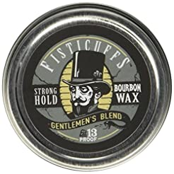 Fisticuffs Strong Hold Mustache Wax Gent...