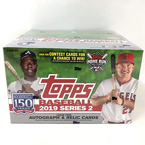Topps Baseball Series - Topps 2019 Baseball Series 2 Retail Display Box (24 Packs)
