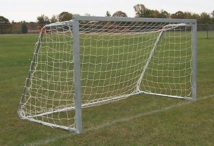 Full Size Football Net for Soccer Goal Post Junior Sports Training Low-Cost