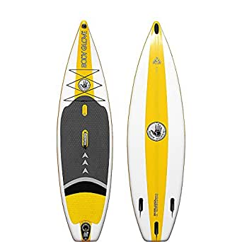 Body Glove Inflatable Stand-Up Paddleboard (White/Yellow)
