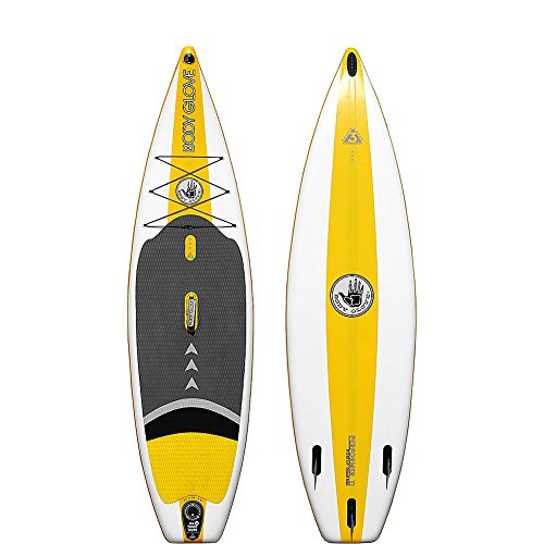 Price comparison product image Body Glove Inflatable Stand-Up Paddleboard (White/Yellow)