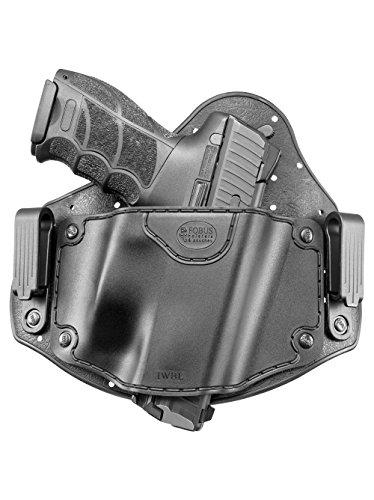Fobus neu IWBL verdeckte Trage IWB Im Inneren der Gürtel universal Pistolenhalfter Holster für Glock 20, 21, 22, 31, 37 / Heckler & Koch H&K VP9, VP40, P30 / Beretta PX4 / Sig Sauer P226, P227 / S&M M