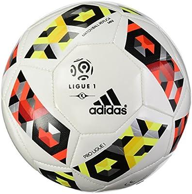 adidas Proligue1Mini Balón de fútbol, Hombre, (Blanco/Rojsol ...
