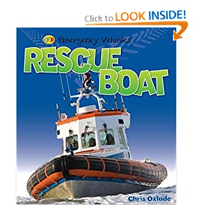 Rescue Boat (Emergency Vehicles) Chris Oxlade