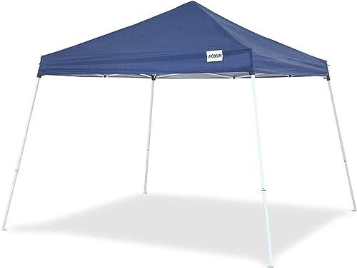 Aoxun Patio 10 X 10 FT Pop-Up Slant Leg Canopy Tent