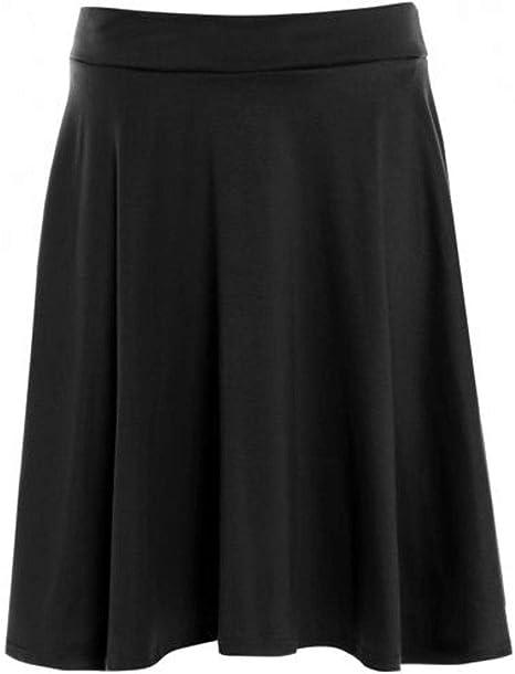 New Womens Wine Check Tartan Printed Skirt 14-28