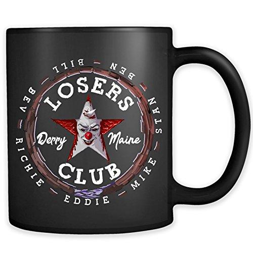 Losers Club Mug - Halloween Horror Clown Coffee Cup