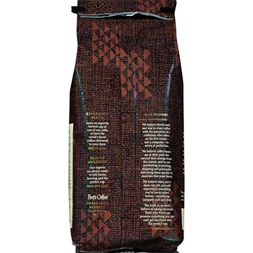Peet's Coffee, Peetnik Pack, French Roast, Dark Roast, Whole Bean Coffee, 20 oz. Bag, Bold, Intense, & Complex Dark Roast Blend of Latin American Coffees, with A Smoky Flavor & Pleasant Bite by Peet's Coffee (Image #1)