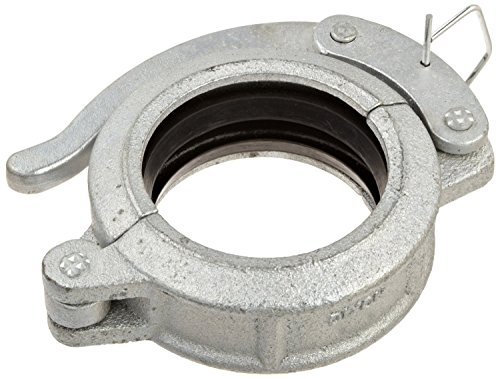 Dixon H33BU Ductile Iron Series Q Pipe and Welding Fitting, Quick Release Coupling with Buna-N Gasket, 3