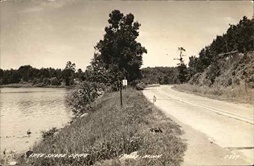 (Lake Shore Drive - Crosby, Minn. Crosby, Minnesota Original Vintage Postcard)