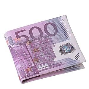 Lalang Hombres Tarjeta Bolsillos nos euros libras