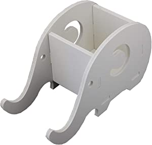 Elephant Pencil Holder with Phone Holder Desk Organizer Desktop Pen Pencil Mobile Phone Bracket Stand Storage Pot Holder Container Stationery Box Organizer