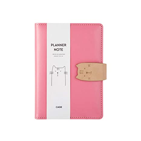 YWHY Cuaderno Planificador Del Diario Kawaii Cuaderno A6 ...