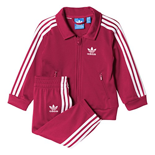 Adidas Originals Firebird Infant Track Suit Pink/White ay2778 (Size (Adidas Firebird Tracksuit)