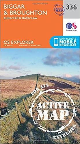 Biggar and Broughton (OS Explorer Active Map)