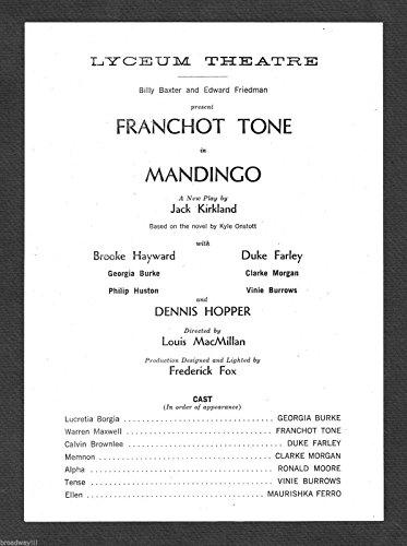 - Franchot Tone