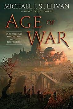 Age of War by Michael J. Sullivan epic fantasy book reviews