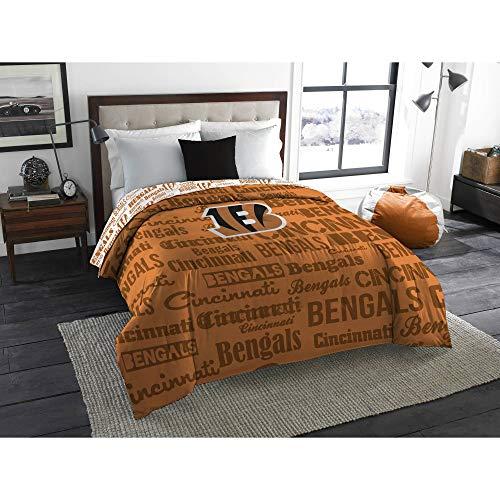 The Northwest Company NFL Cincinnati Bengals Anthem Twin/Full Bedding Comforter