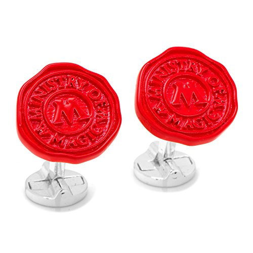 Harry Potter Ministry of Magic Wax Stamp Cufflinks, Officially Licensed by Cufflinks (Image #1)
