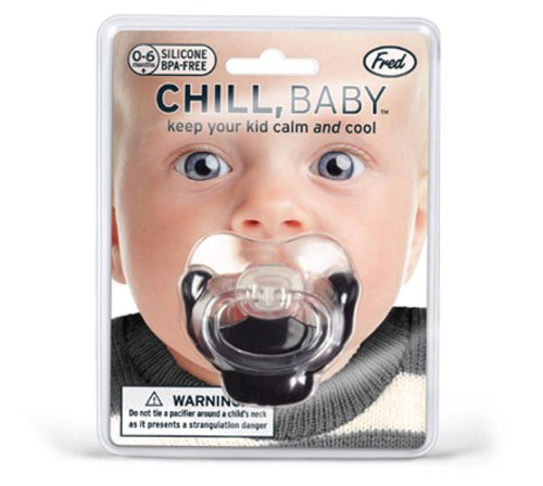 Lifetime Fred CHILL, BABY Goatee Pacifier