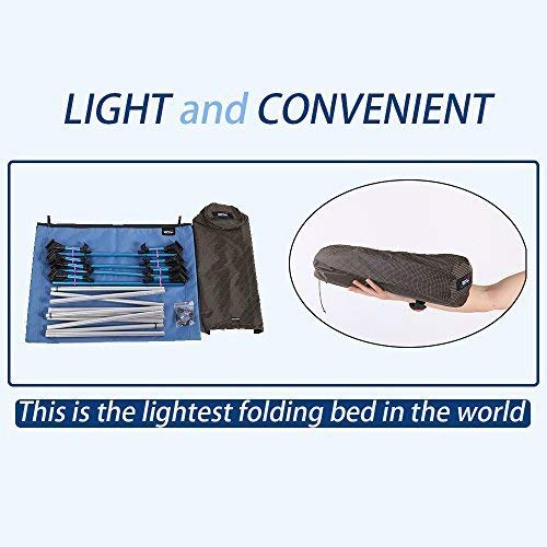HUKOER plegable cama sof/á cama al aire libre Viajes Camping senderismo aleaci/ón de aluminio ultraligeros cama plegable para acampada dormir cama para Camping senderismo pesca 200 kg