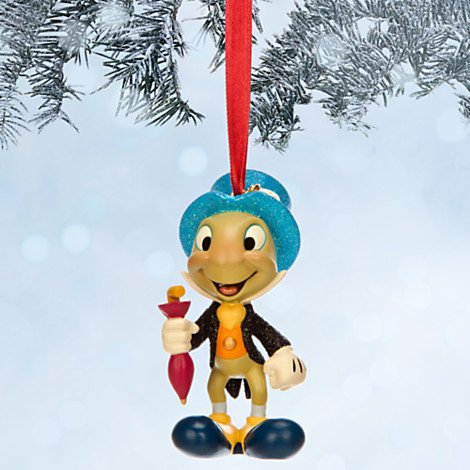 Disney Jiminy Cricket Sketchbook Christmas Ornament