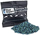 Pest Expert Rat Killer Poison 10kg Formula 'B+' Professional Strength Rodenticide (100 x 100g)