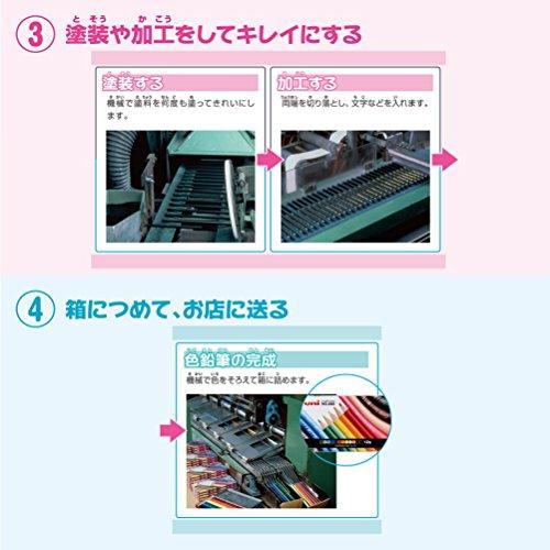 Mitsubishi Pencil Uni Colored Pencils 72 Colors Set by Mitsubishi Pencil Co., Ltd. (Image #7)