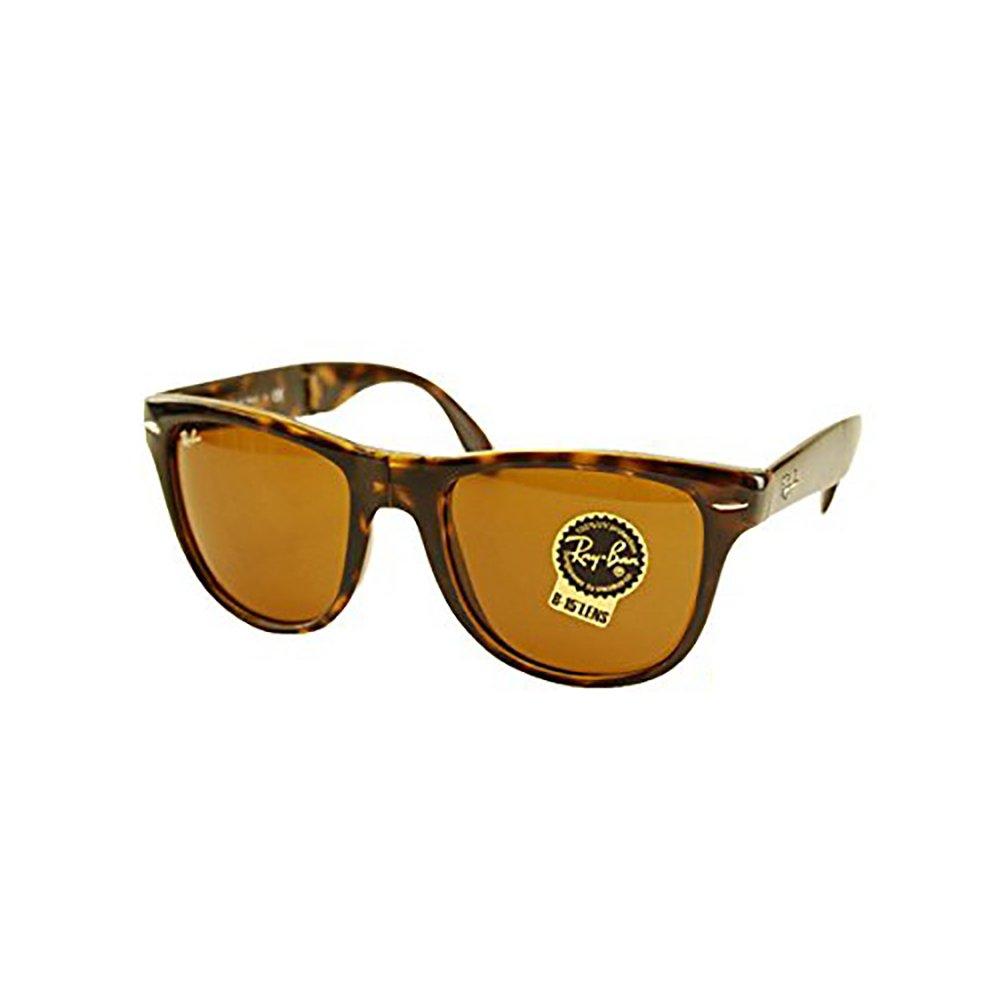 【レイバン国内正規品販売店】 Ray-Ban (レイバン)サングラス RB4105 710 54 伊達メガネ 眼鏡 WAYFARER ウェイファーラー フォールディング ■フレームカラー:ライトハバナ■レンズカラー:ブラウン B00TJV245A