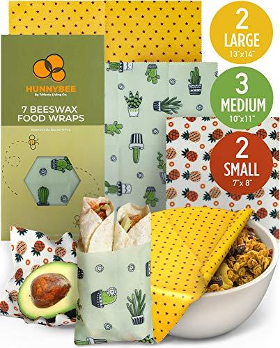 HUNNYBEE Reusable Beeswax Food