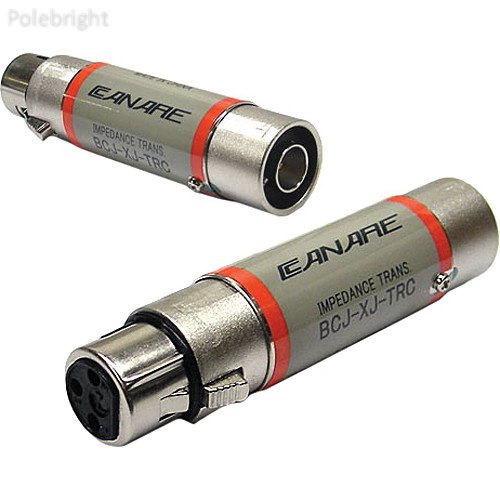 75 Ohm Impedance (BCJ-XJ-TRC 110 Ohm to 75 Ohm Digital Audio Impedance Transformer - Polebright update)
