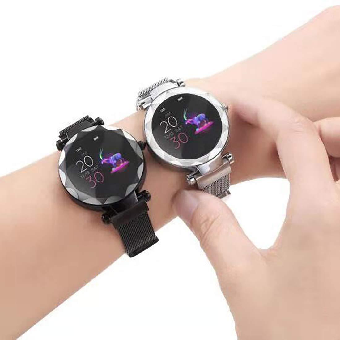 Amazon.com: omodofo - Reloj inteligente para mujer con ...