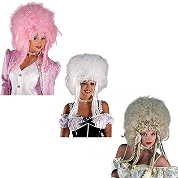 Perucke Rokoko Barock Baronese Damenperucke Farbe Blond Amazon De
