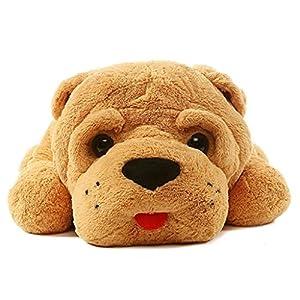 """Kaylee & Ryan 35"""" Sleeping Shar Pei Dog Plush Toy Pillow - 51yxxdOnATL - Kaylee & Ryan 35″ Sleeping Shar Pei Dog Plush Toy Pillow"""