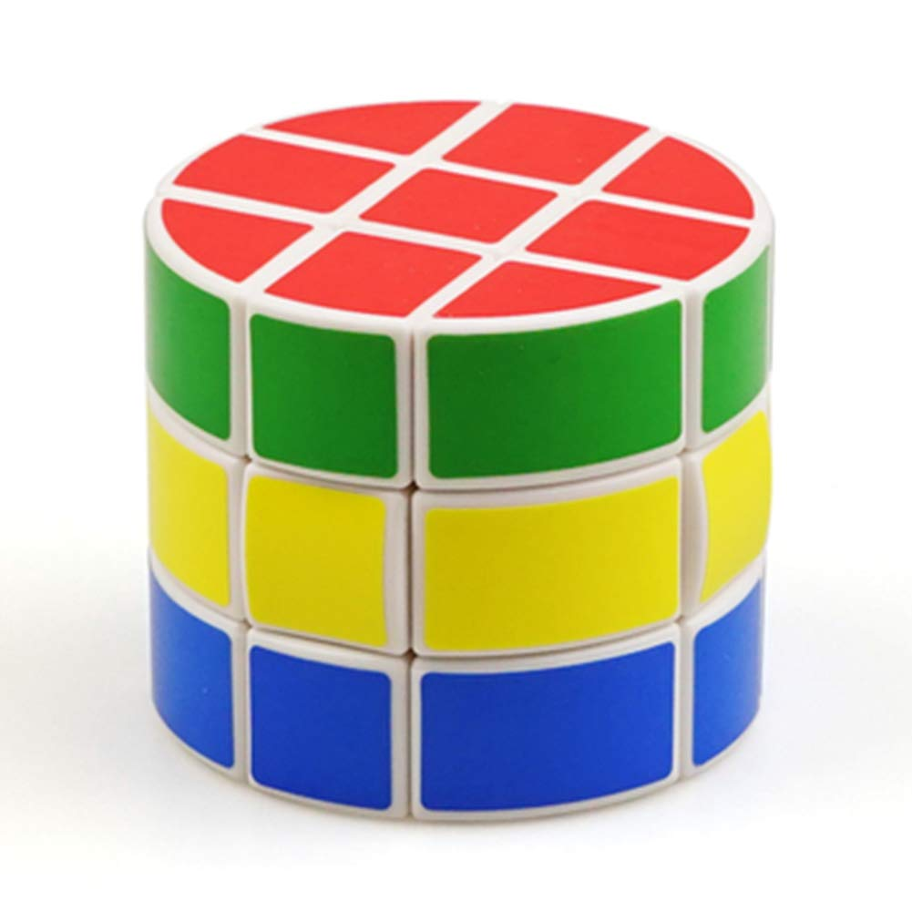JIAAE 3X3 Cylinder Rubik's Cube Professional Competition Smooth Rubik Children Puzzle Toy