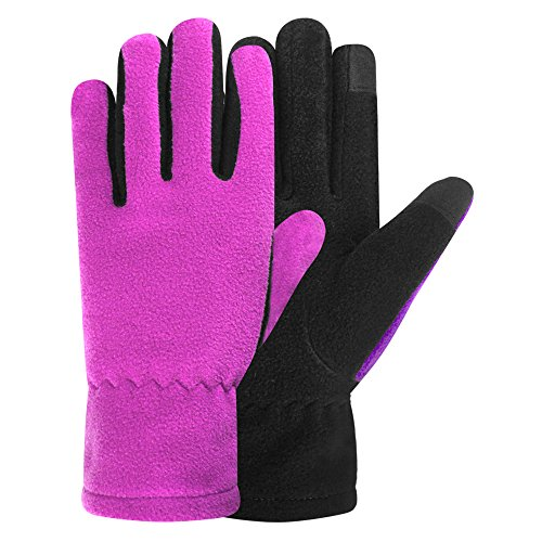 Igloos Girls Microfleece Touch Gloves