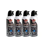 PC Hardware : Falcon Compressed Gas (152a) Disposable Cleaning Duster 4 Count, 10 oz. Can (DPSXL4T)