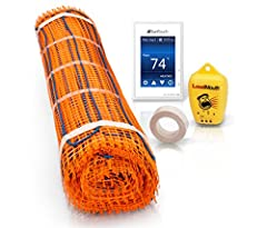 This floor warming installation kit contains everything needed for quick and economical installation of a radiant heat flooring system It makes installation easy and will provide heat to warm the floors and help keep floors dry and safe The m...