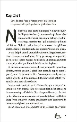 best website 45a3e c4a42 Amazon.it: Il giro del mondo in 80 giorni - Jules Verne ...
