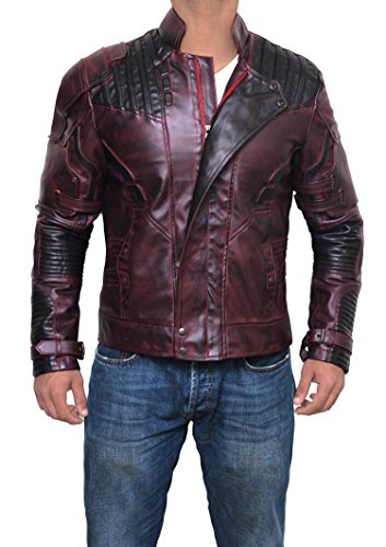Superhero Costume Jackets Collection - Premium Quality - For Cosplay and Halloween Parties (M, Maroon - Star Lord (Premium Quality Halloween Costumes)