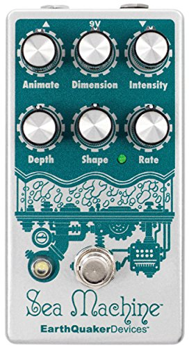 EarthQuaker Devices Sea Machine V3 Super Chorus Guitar Effects Pedal from Earthquaker Devices