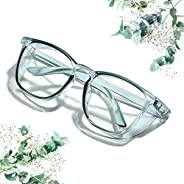 Safety Glasses Goggles Anti-fog Protective Eyewear, Clear Anti-Scratch/ Anti-Blue Ray