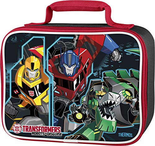 Thermos Soft Lunch Kit, Transformers Robots in - Transformer Metal Box Lunch