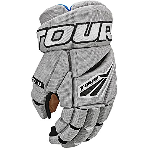 Hockey Line In Gloves (Tour Code 1 Inline Hockey Gloves Size: 13 Inch Grey/Black)