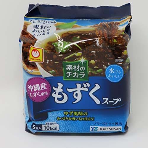 Japanese Mozuku Soup 5servings(1bag), Freeze-drying, Okinawa Mozuku