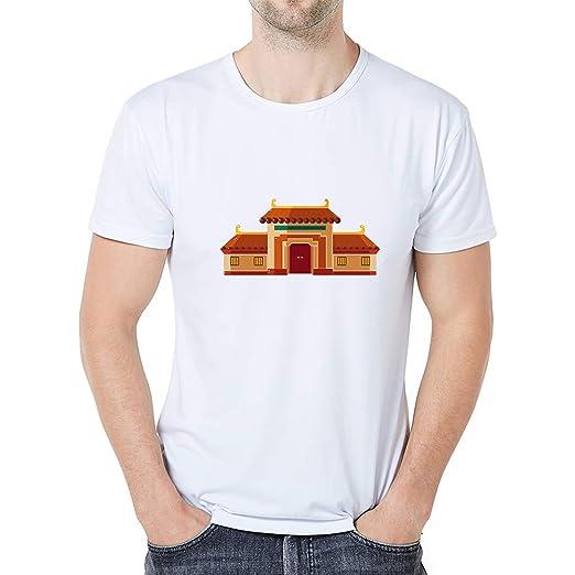 58343423 Amazon.com: Men Women Kids Casual T-Shirt Tops Printed O-Neck Short ...