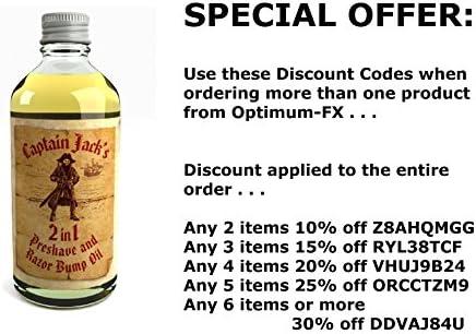 Aceite De Afeitado Y Aceite Para La Irritación 2 En 1 Captain Jack Reino Unido Hecho Con Ingredientes Naturales Y Orgánicos 100ml