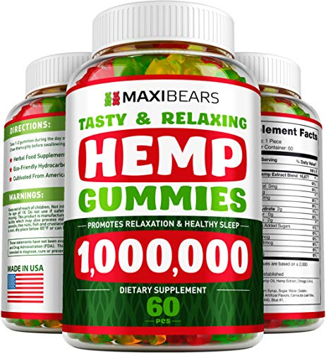 MAXIBEARS Hemp Gummies 1000000