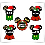 Disney Inspired Christmas Magnet. Personalized Disney Cruise Magnet. Mickey Minnie Magnet. Stateroom Decor.