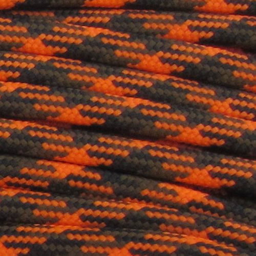 Paracord Planet Nylon 550lb Type III 7 Strand Paracord Made in the U.S.A. (Christmas 604)